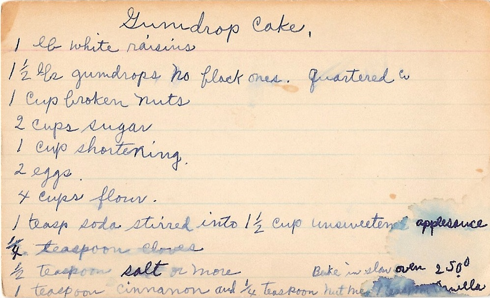 Gumdrop Cake A