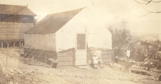 The Mt. Washington tent house, circa 1928/9